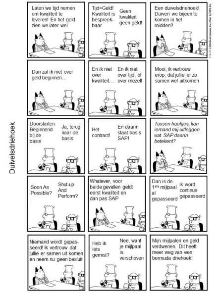 Dilbert - Duivelsdriehoek