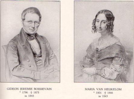 GIDEON JEREMIE (1796 - 1875) x MARIA VAN HEUKELOM (1801 - 1866)