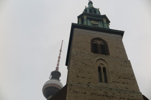 Marien Kirche and TV Tower