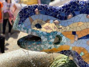 Salamander van Gaudi